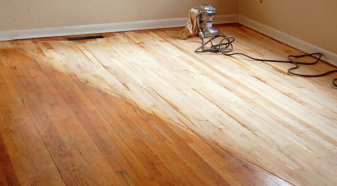 Beginners Guide to Sanding Pine Floors