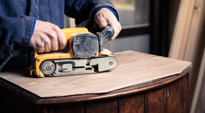 What is a drum sander & a belt sander, and what are they used for?