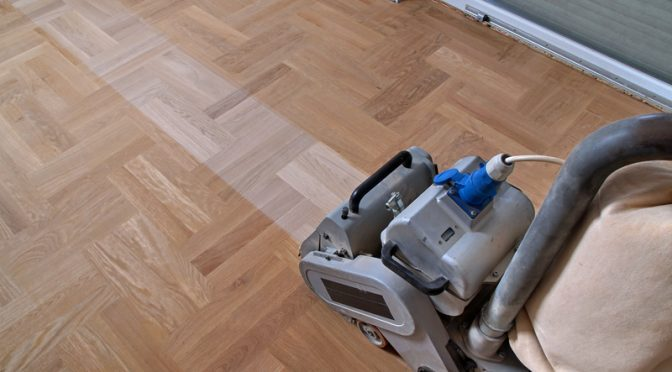 When should you restore your wooden floor?
