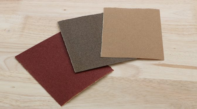 types of sandpaper
