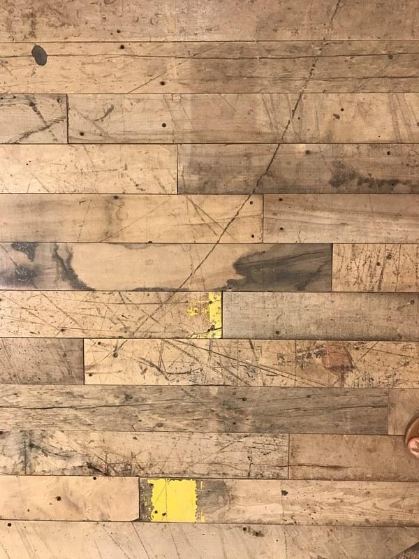 scratches on wooden floor